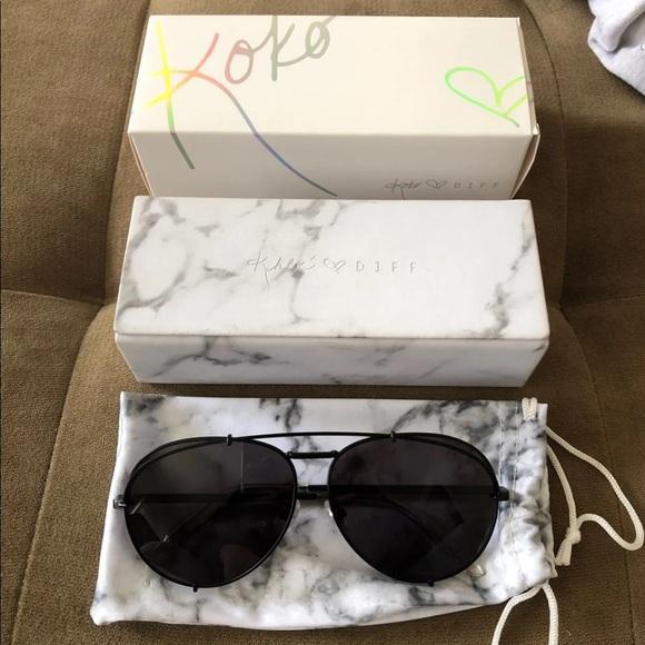 9d791accecfbd Diff (Khloe Kardashian) Koko Sunglasses
